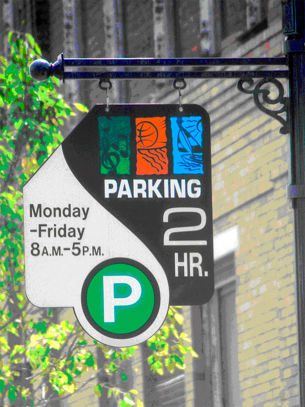 Downtown Parking Sign copy
