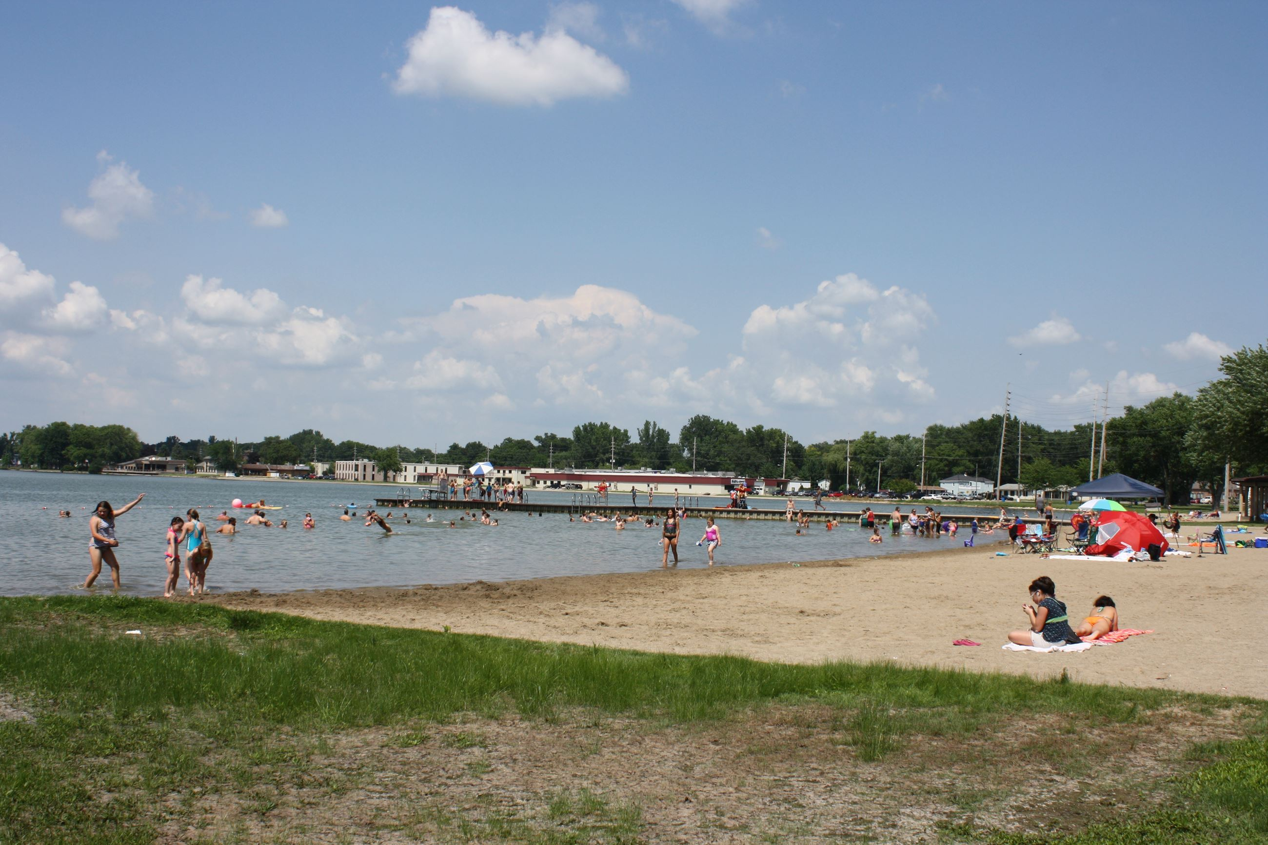Center Lake Beach