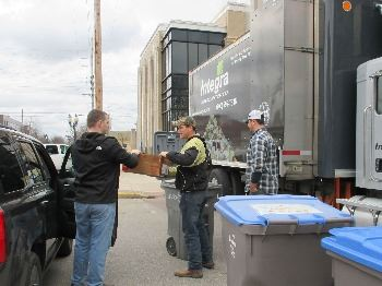 Borden Recycling Event