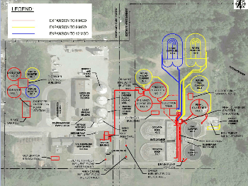 Aerial Map of Wastewater Expansion Project
