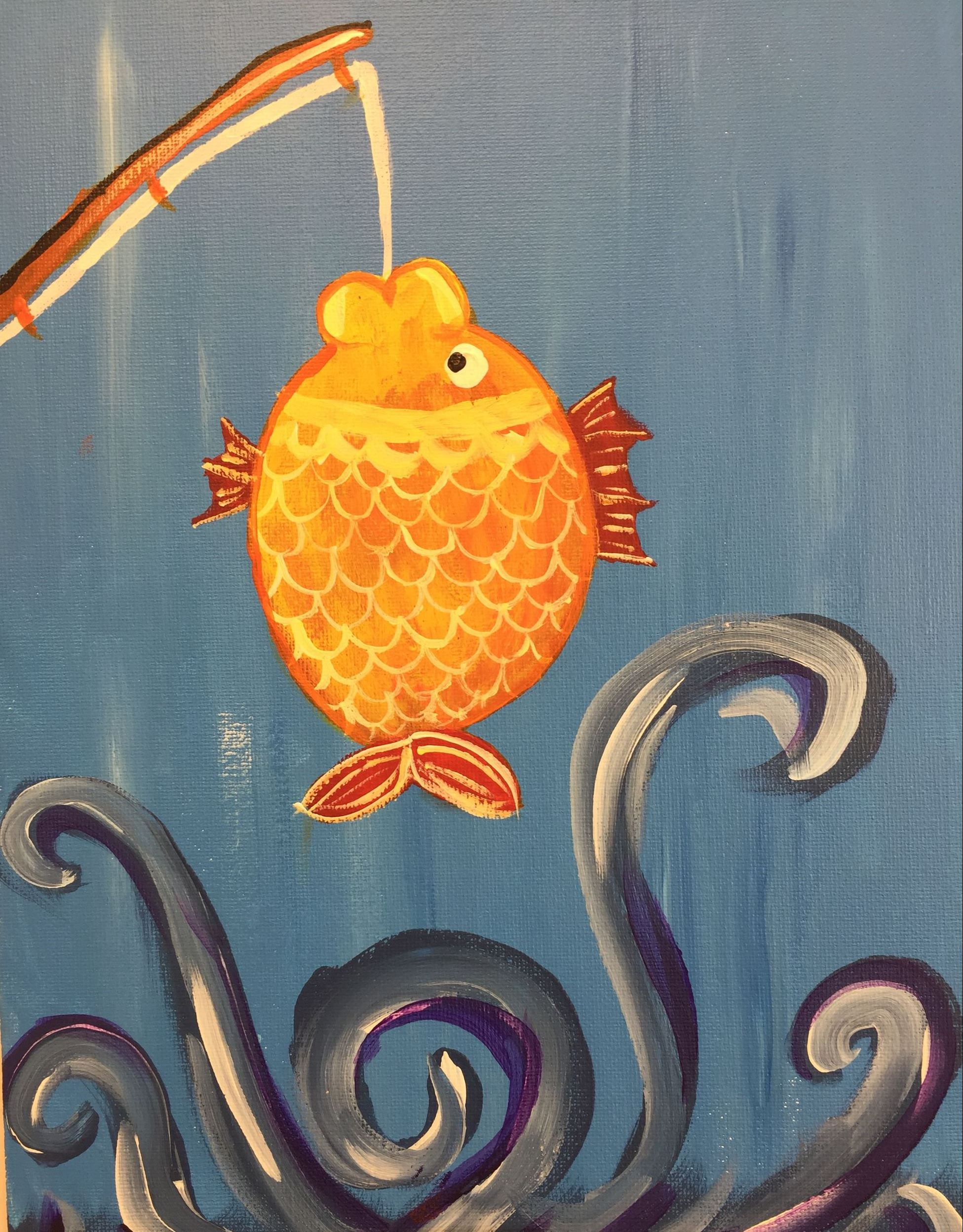 May Pictures - Fish on a rod