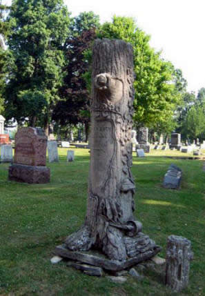 Tree Trunk monument