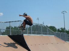Mantis Skate Park Skater